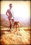 Hiked 5 miles up Rocky Peak, CA
