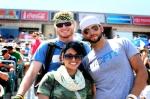 """Ryan """"@deckerra"""" Decker, Joe Petrusky (owner of CrossFit Love), and me."""